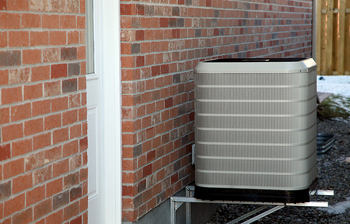 Air conditioning unti installed by Warnky Heating & Cooling
