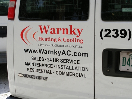 Warnky Heating & Cooling - Sales - 24 HR Service - Maintenance - Installation - Residential - Commercial